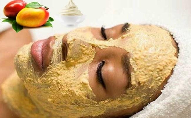 mango face pack for skin whitening