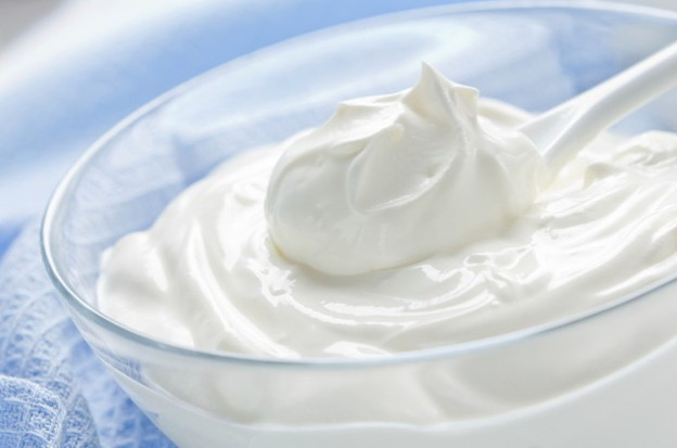 Yogurt for silky hair