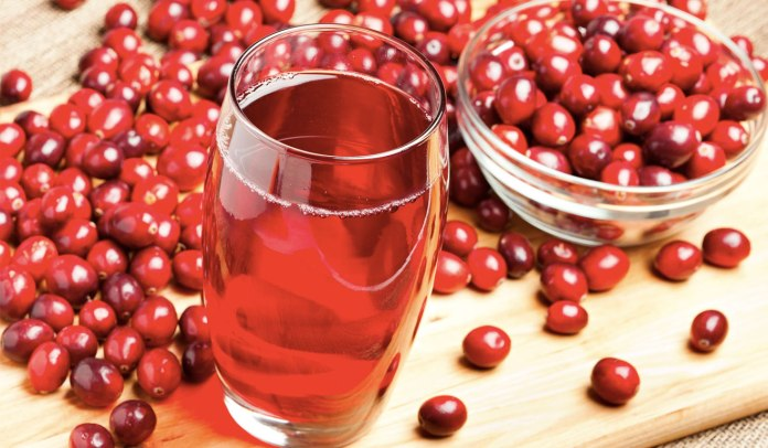 Cranberry juice benefits for skin and hairs