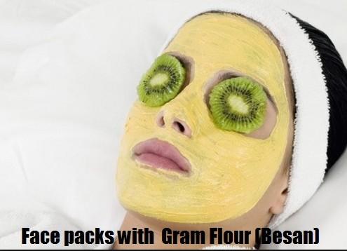 Gram Flour For Skin Tightening