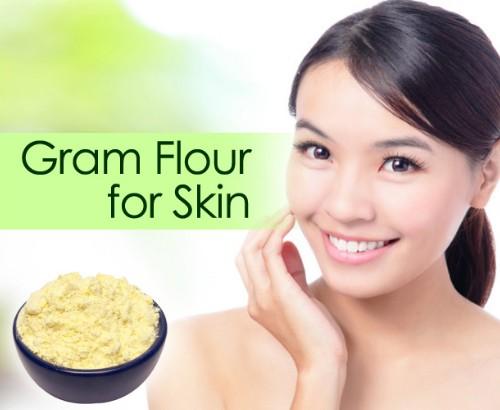 Gram Flour Treats Dry And Flaky