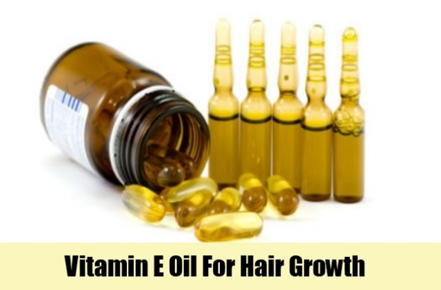 vitamin e benefits for hair growth