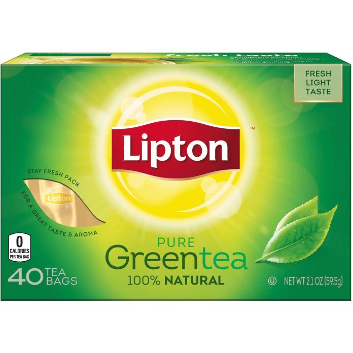 Lipton Green Tea Health benefits For weight loss