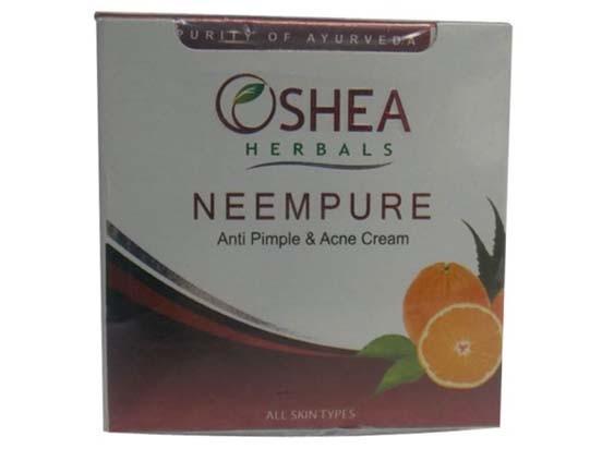 Oshea Herbals Neem Pure Anti Acne And Pimple Cream