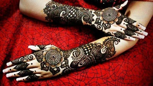 Mehndi Free Hand : Top latest arabic mehendi design pictures for hands