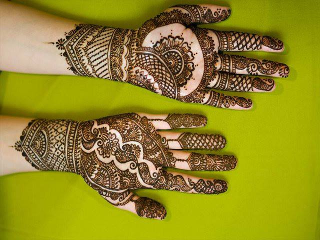 new simple mehendi designs