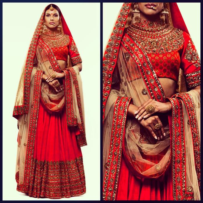 Sabyasachi Mukherjee Bridal Wear Collection 2015