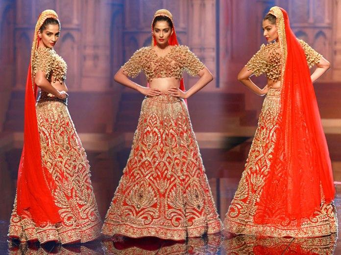 Abu Jani And Sandeep Khosla-Indian Bridal Wear Collection 2015