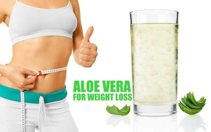 aloe vera for weight loose