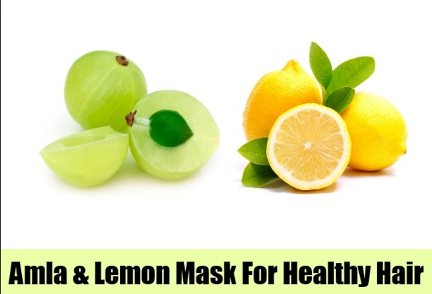 Amla Powder And Lemon Juice
