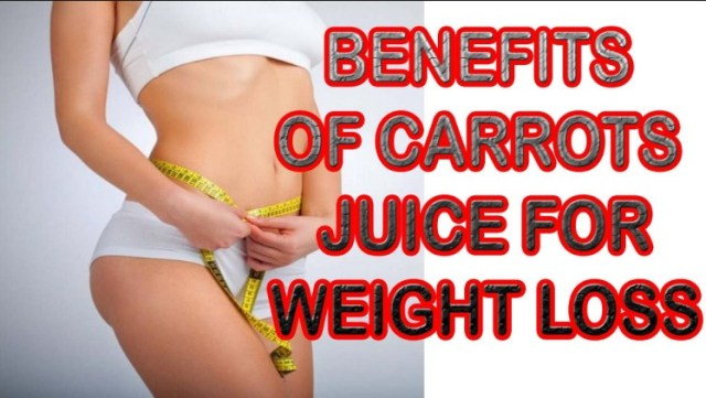 Carrot Juice Foweight loss