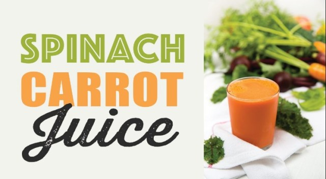 Carrot Spinach Juice Recipe