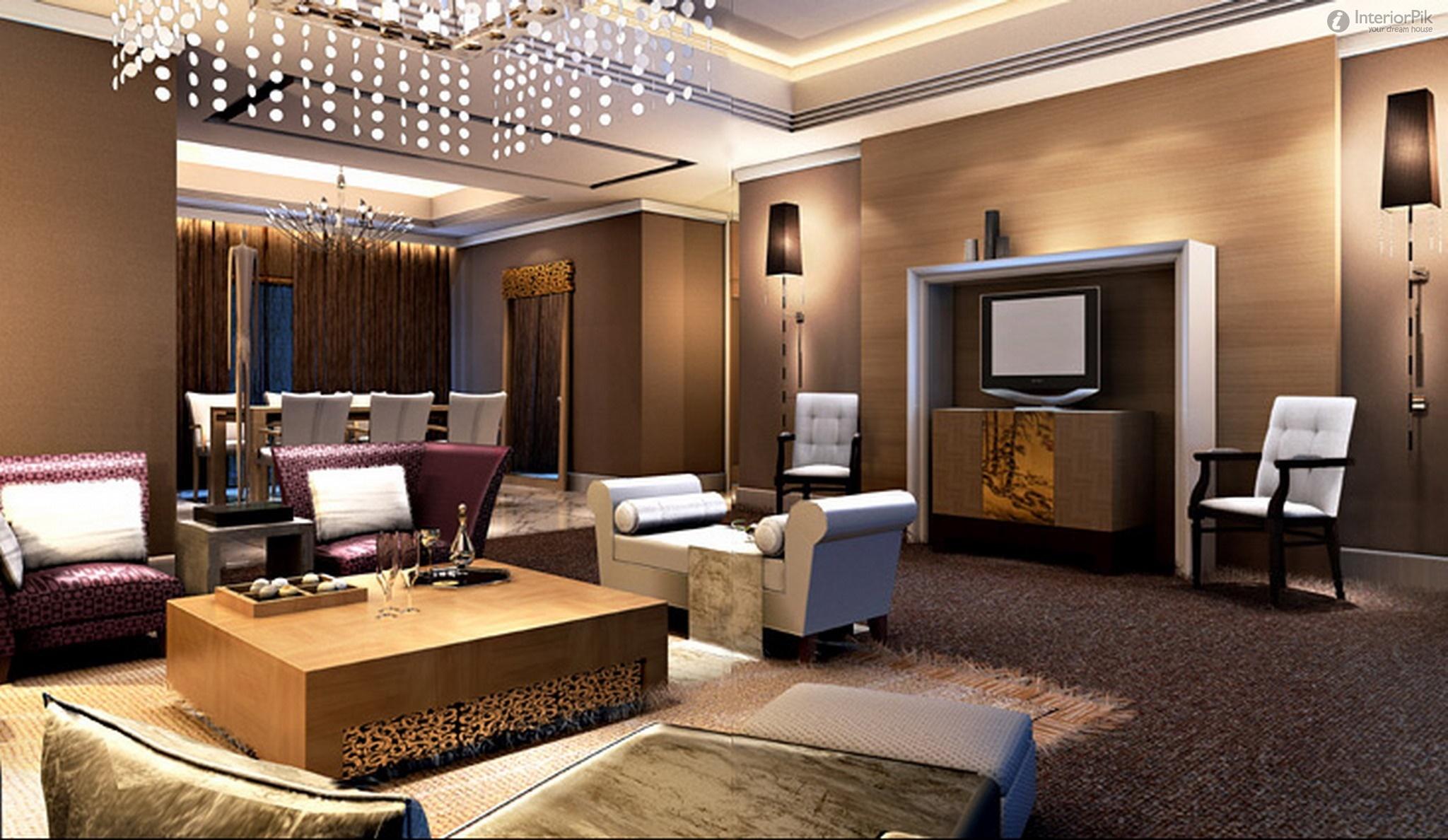 False Ceiling Designs For Living Rooms