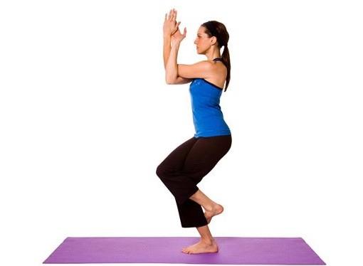 Garudasana Pose For Weight Loss