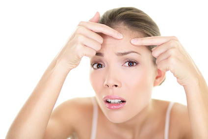 how to prevent forehead acne
