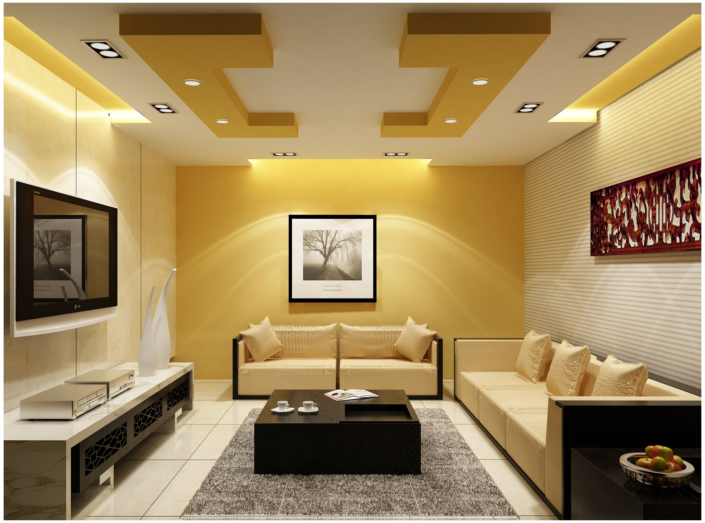 25 Latest False Designs For Living Room Amp Bed Room Youme