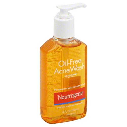 neutrogena face wash for oily skin