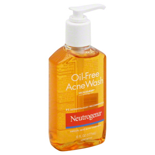 neutrogena face wash for oily skin