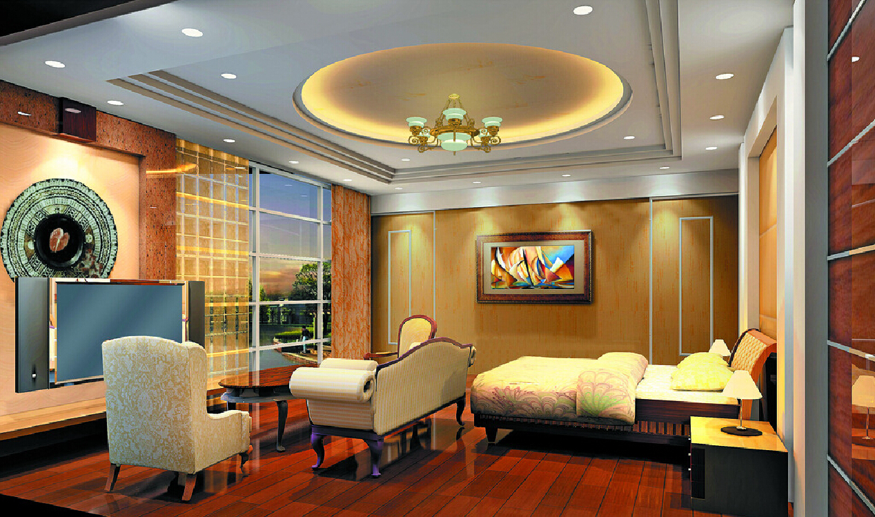 25 Latest False Designs For Living Room & Bed Room - Youme ...
