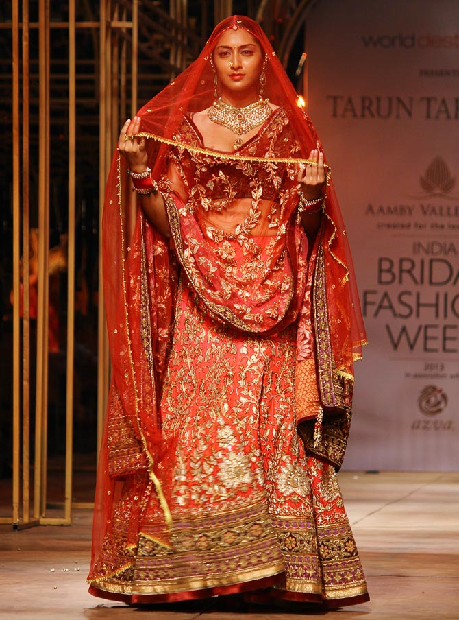 Tarun Tahiliani Bridal Collection 2015