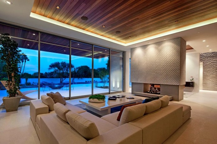 Wooden Ceiling Designs for Living Room Common Hall