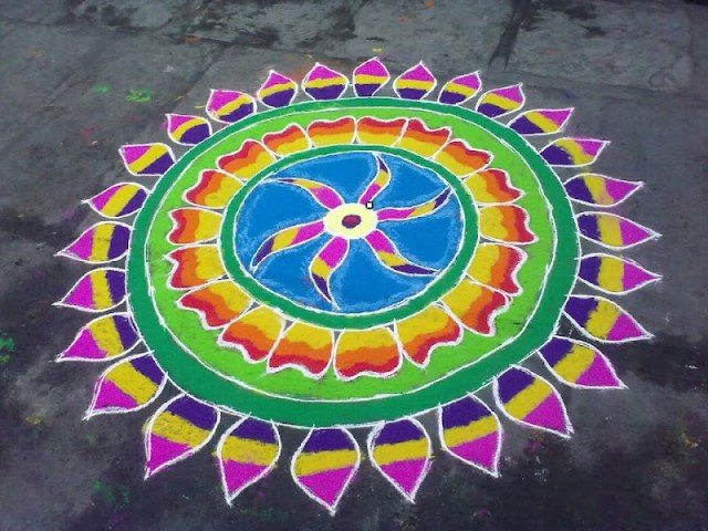 latest muggulu designs for sakranthi