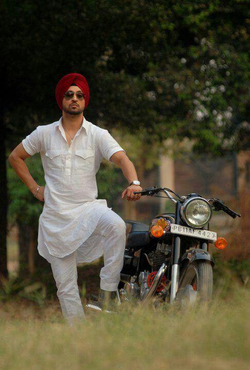 punjabi movie star in kurta pajama