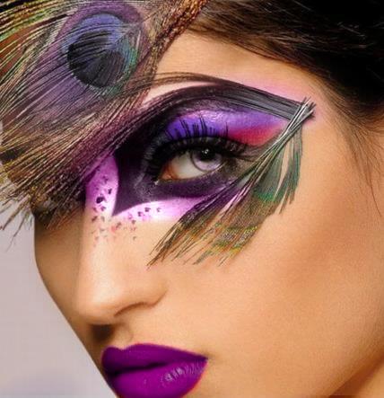 unique eye make up