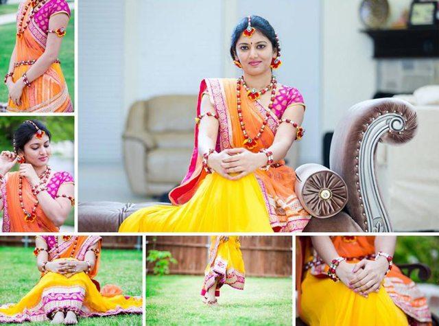 bridal floral jewellery designs