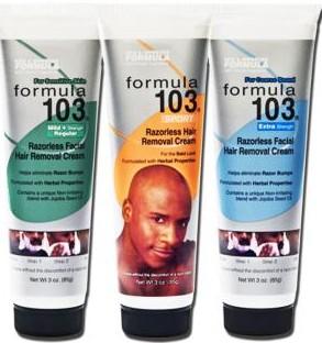 Formula 103 Extra Strength Hair Removal Cream