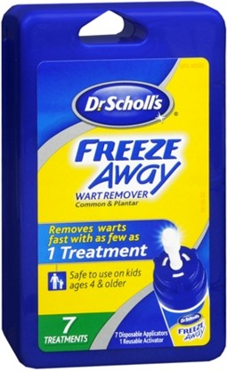 Freeze Away Wart Remover By Dr Scholl