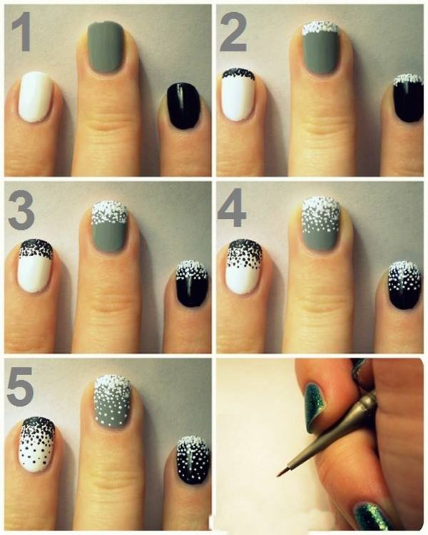 manicure nail art tutorial