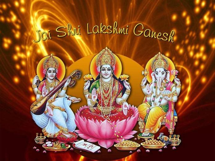 ganpati ji with maa saraswati photos