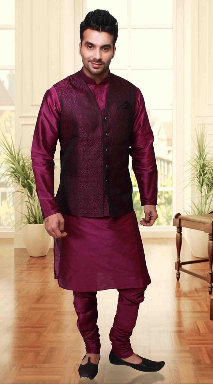 kurta pajama designs with jackets