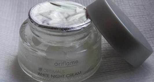 Oriflame Optimals White Night Cream
