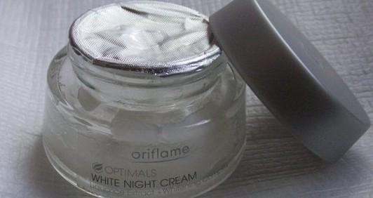 Oriflame Optimals White Night Cream