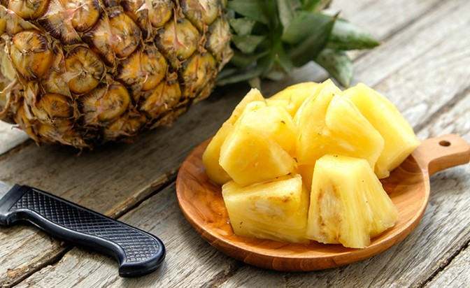 pineapple benefits on health hair and skin