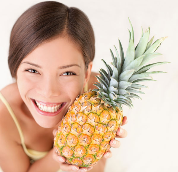pineapple benefits for acne