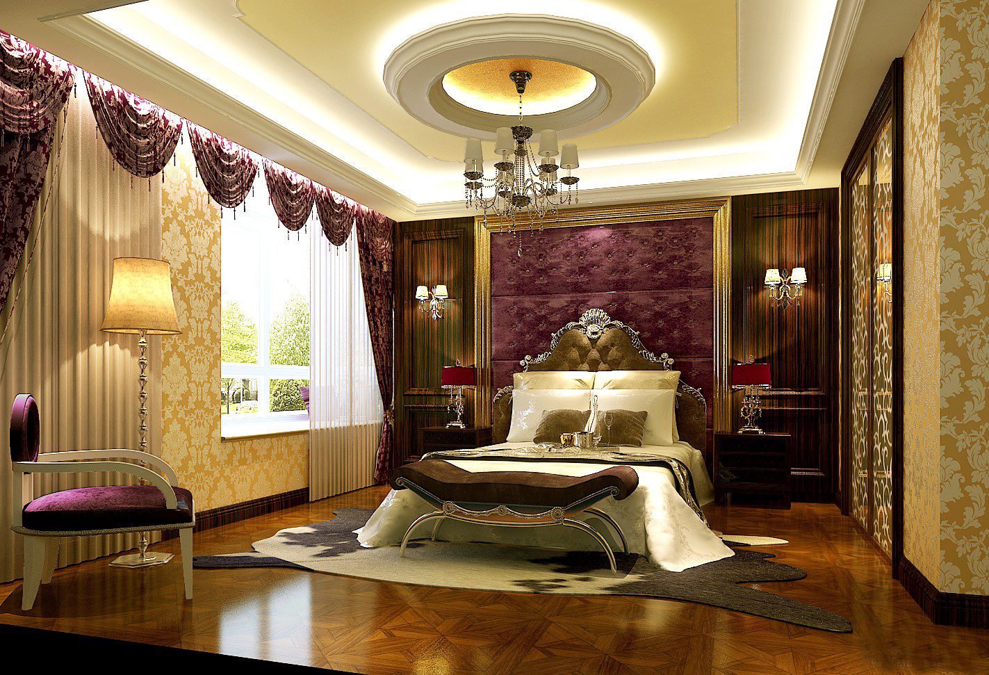 ROYAL POP FALSE CEILING DESIGN FOR BEDROOM