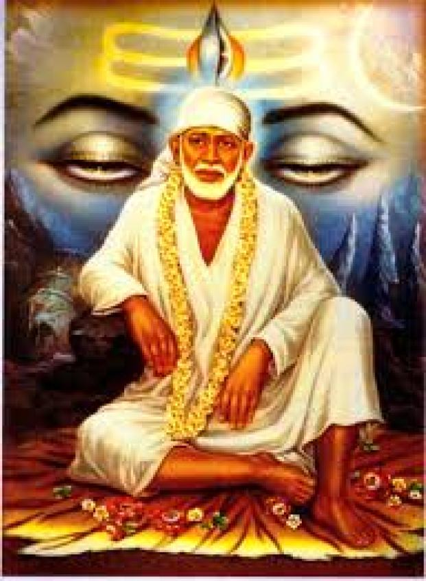 sai baba beautiful pic free