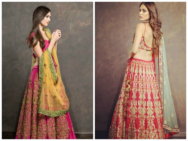 Shyamal And Bhumika Bridal Collection 2015