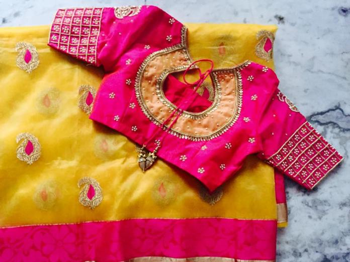 wedding blouse designs