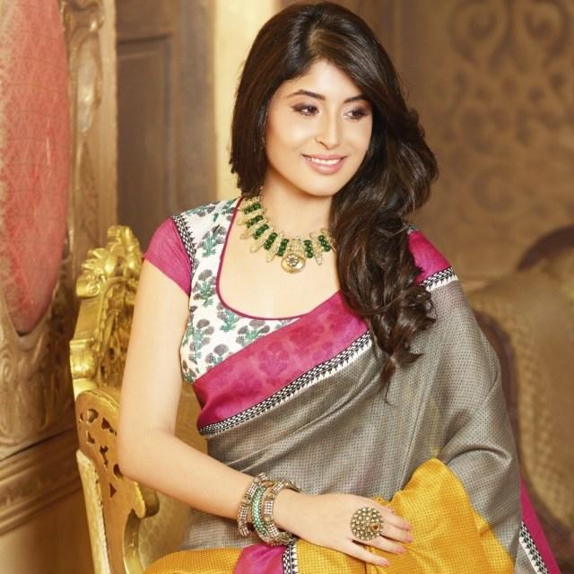 simple blouse design for silk saree