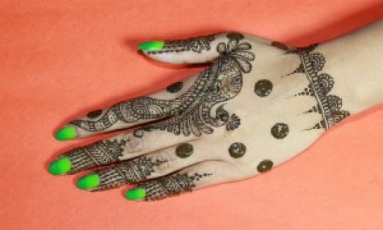 easy mehandi design for beginners