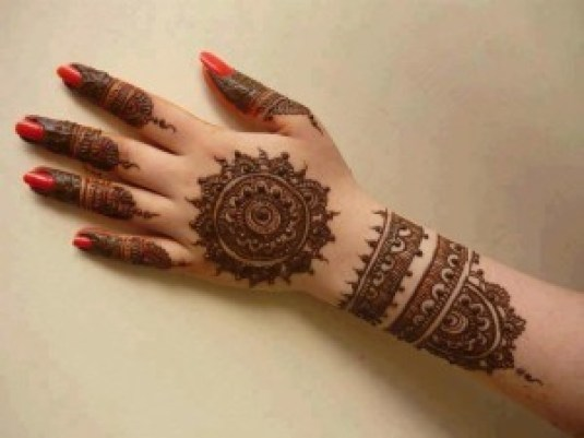 Easy Best Mehndi Design