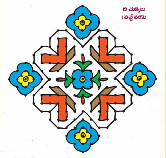 plain muggulu designs
