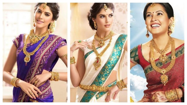 south indidan bridal look