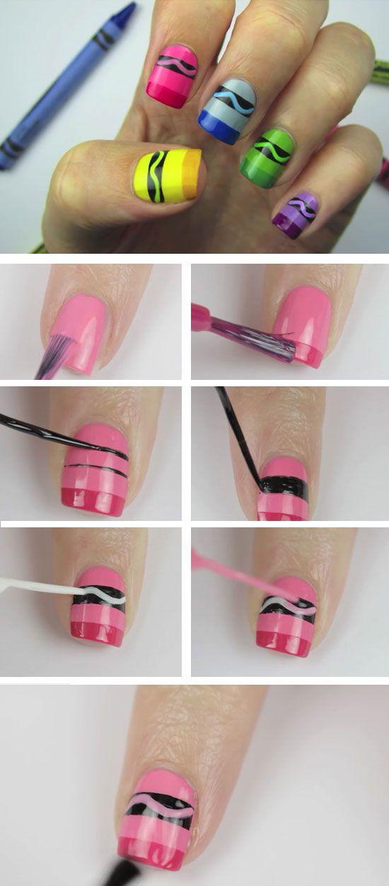 nail art design for kids