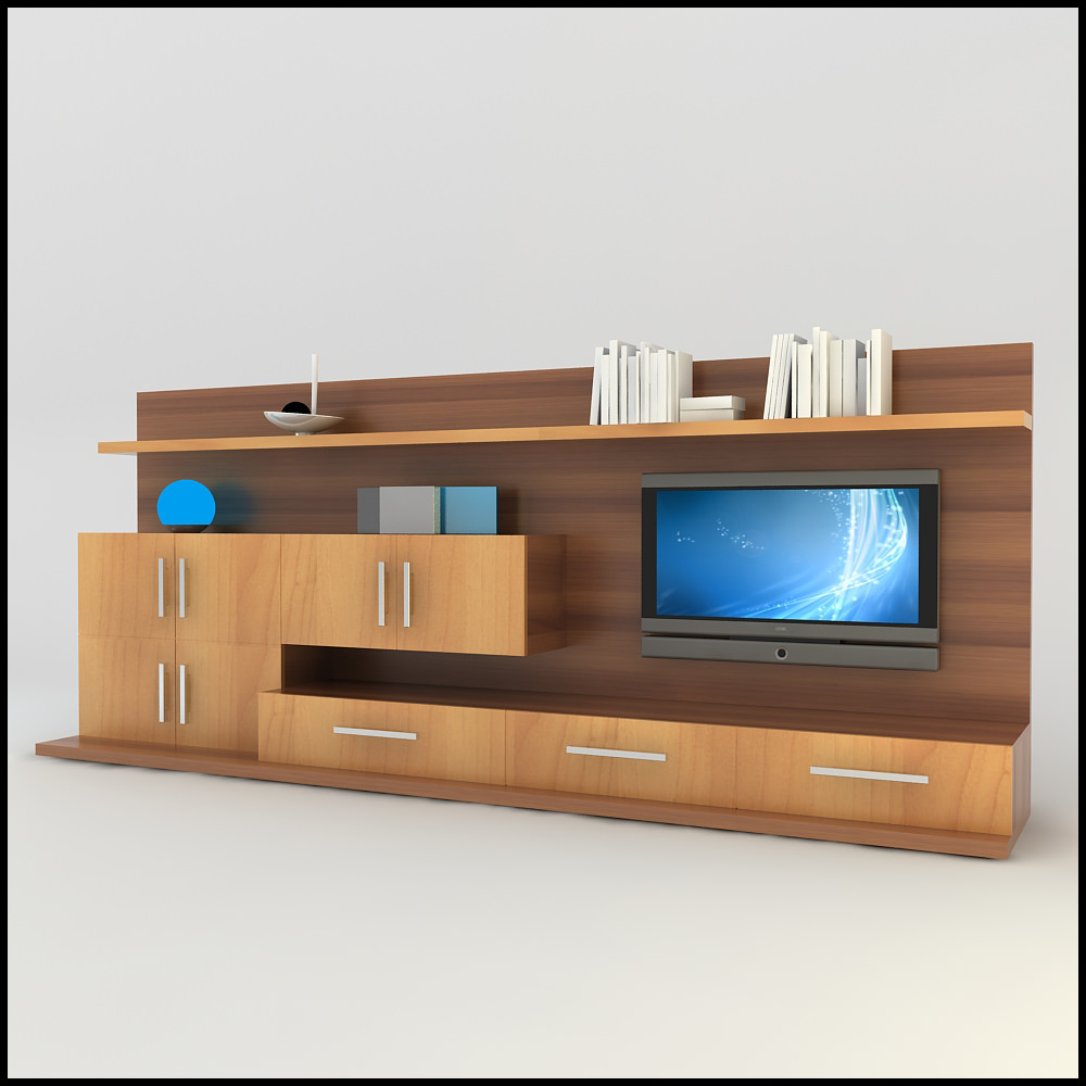 20 modern tv unit design ideas for bedroom living room for Small tv room layout