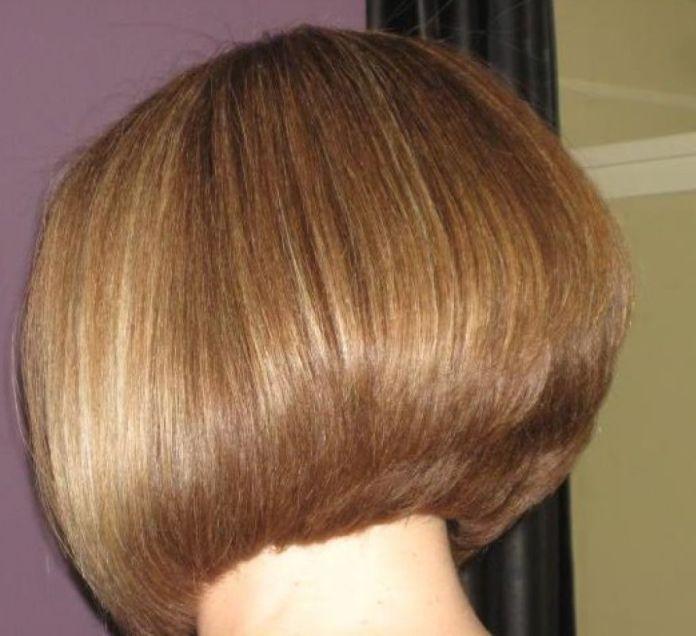 trendy short layered bob hairstyle